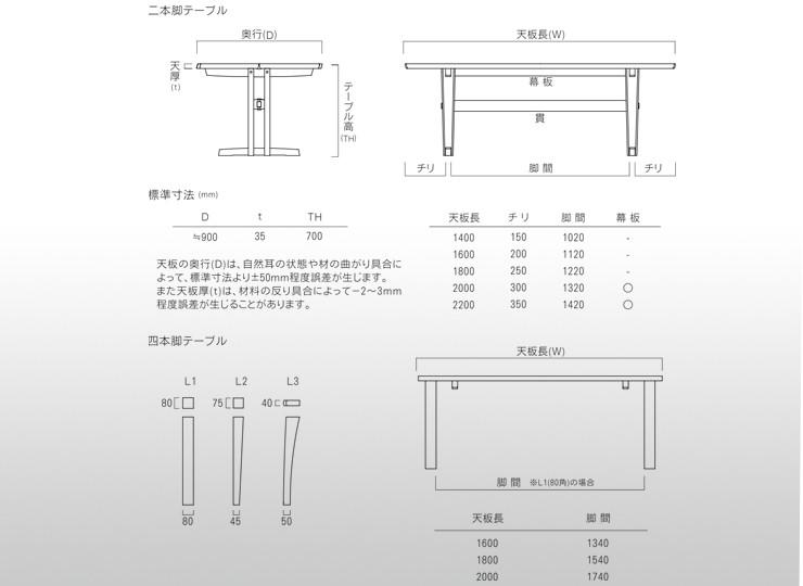 ブックマッチテーブル/クリ