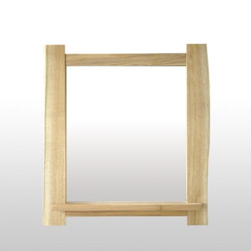 飾り棚付鏡(幅広小)